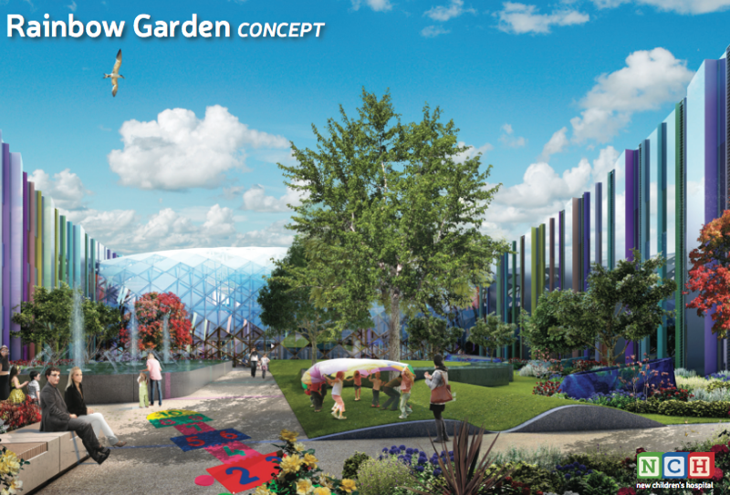 Concept design for the new children's hospital is unveiled