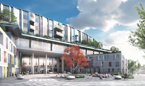 Ireland is one step closer to having a new world-class children's hospital as plans are lodged with An Bord Pleanála
