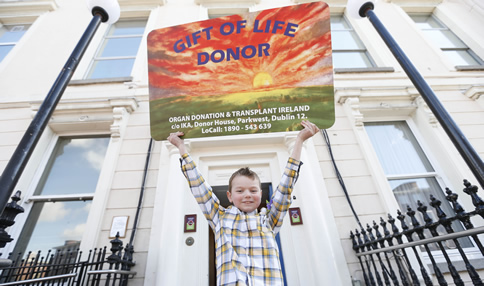 107 Children have received a Kidney Transplant at Temple Street  over last 13 years