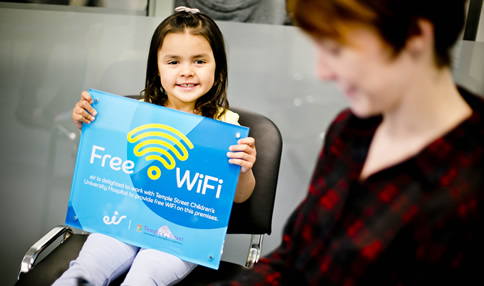 Temple Street Children's University Hospital  Takes Advantage of eir's WiFi Expertise