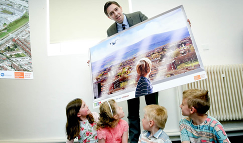 Minister for Health, Simon Harris, TD welcomes the granting of planning permission for the new children's hospital