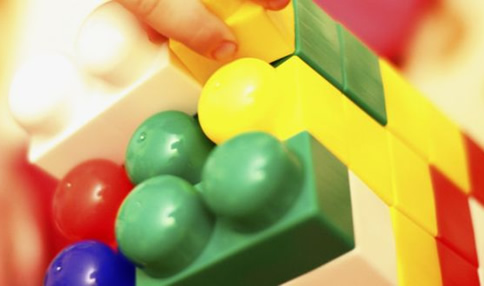 The playroom in Temple Street hospital: children play here without fear