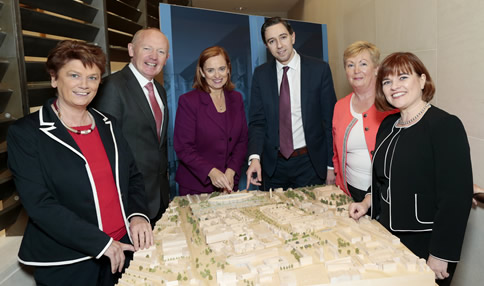 New children hospital information session held at Leinster House today (20/10/16) for Oireachtas members