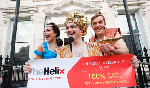 Helix Panto on 1st December to help Temple Street children