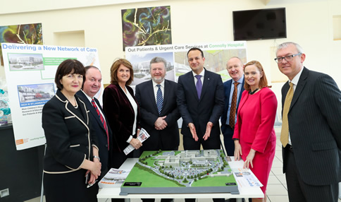 3D Model unveiled of planned Paediatric Outpatients and Urgent Care Centre at Connolly Hospital