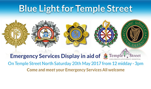 Blue Light for Temple Street