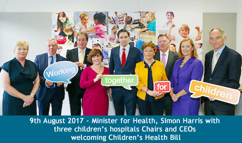 Temple Street welcomes Government's approval of Children's Health Bill to establish single legal entity to run new children's hospital