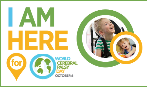 World Cerebral Palsy Day 6th October 2017