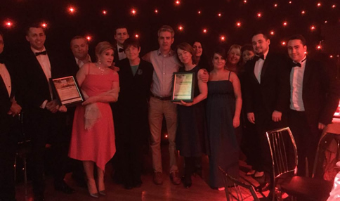 Congratulations to Dairin Hines & the Temple Street ICT Team highly commended at the Irish Healthcare Awards
