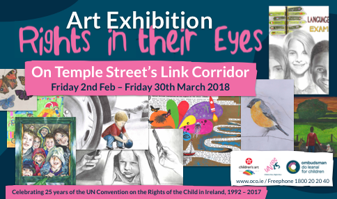 OCO 'Rights in their Eyes' art exhibition