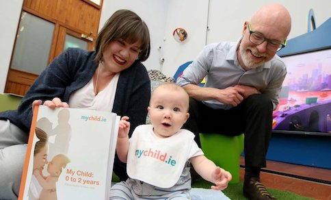HSE's mychild.ie – new pregnancy, baby and toddler health website and books for parents and parents-to-be