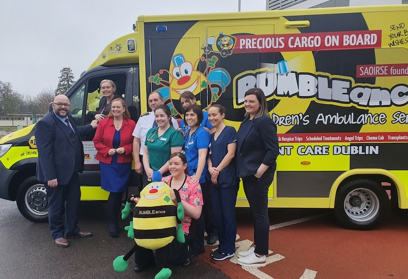 2020 BUZZ as new state-of-the-art BUMBLEance launched in Dublin