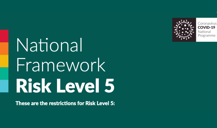 Nationwide Level 5 Restrictions