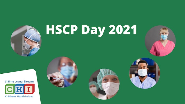 Celebrating HSCP Day 2021 in Children's Health Ireland