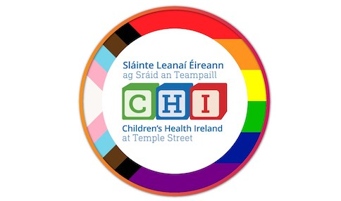 Children's Health Ireland (CHI) – Launches HSE Rainbow Badge Initiative for staff