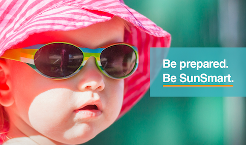 HSE reminding parents to be SunSmart and protect children's skin