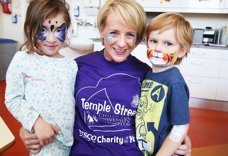 Temple Street Children's University Hospital announced as Tesco Charity of the Year